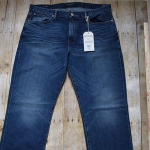 NWT Lucky Brand Men's 363 Straight Jeans 36x34